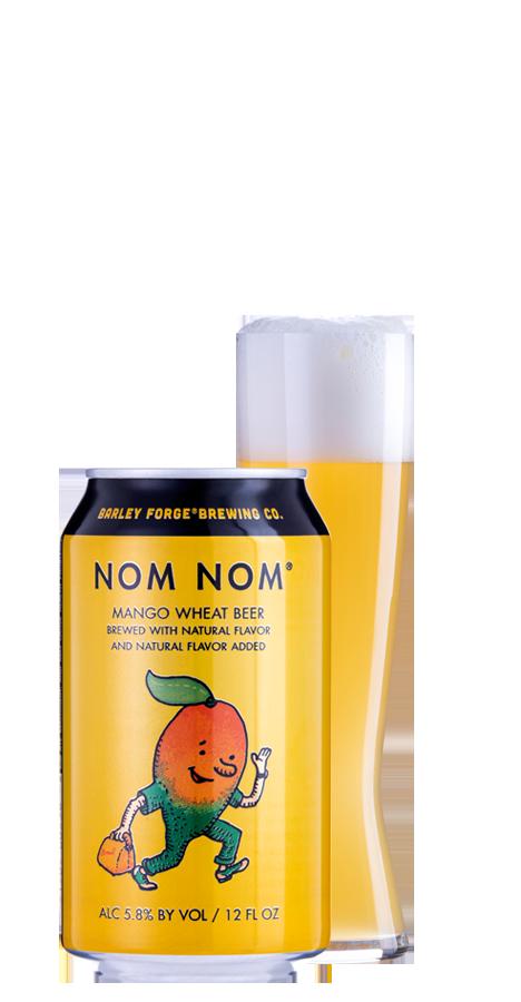 ノム ノムのマンゴー・ウィート ビール