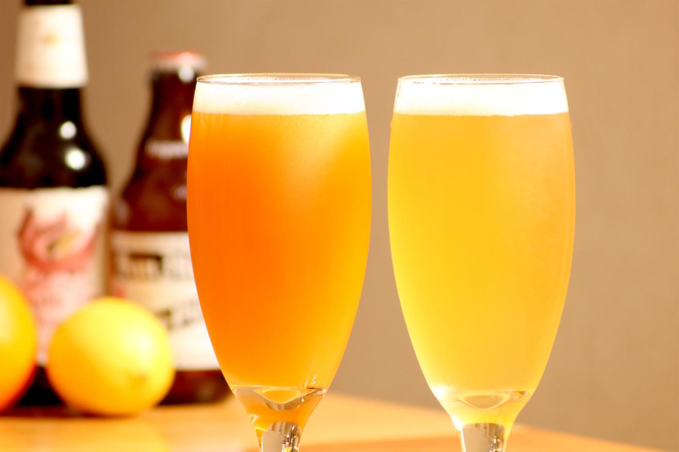 ビターオレンジとパナシェ